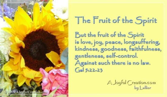 Fruit of the Spirit ecard, online card