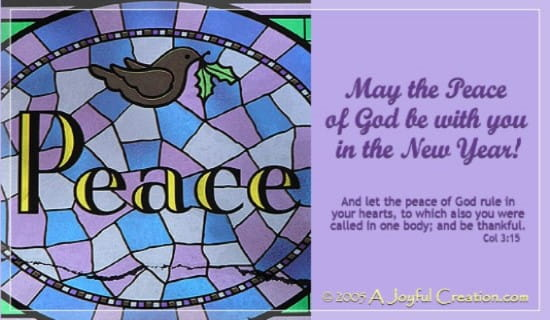 Peace Of God ecard, online card