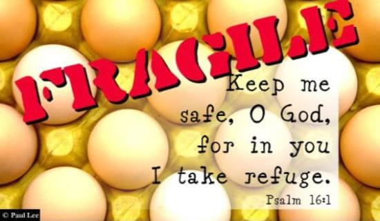 Psalm 16:1 ecard, online card