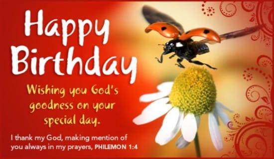 God's Goodness ecard, online card