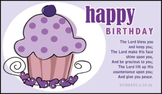 Numbers 6:24-26 ecard, online card