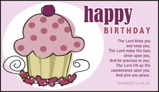 Numbers 6:24-26 ecard, online card
