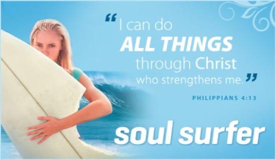 Soul Surfer ecard, online card