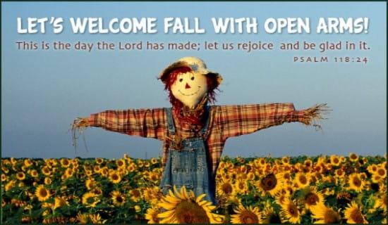 Open Arms ecard, online card