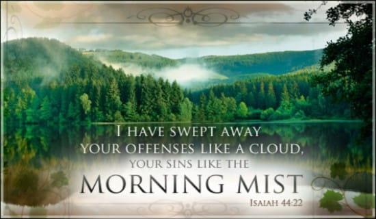 Isaiah 44:22 ecard, online card