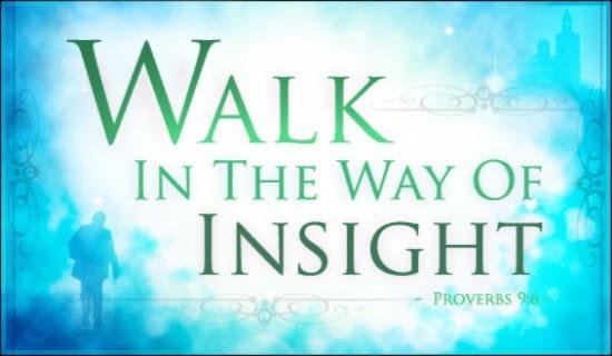 Proverbs 9:6 ecard, online card