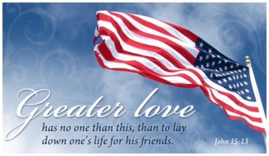 Greater Love ecard, online card