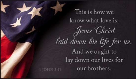 1 John 3:16 ecard, online card