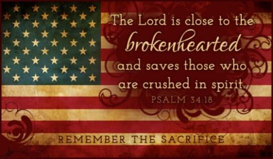 Psalm 34:18 ecard, online card