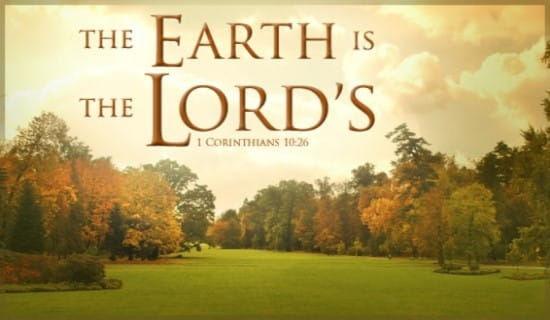 Lord's Earth ecard, online card