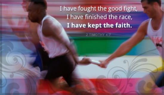 Kept the Faith ecard, online card