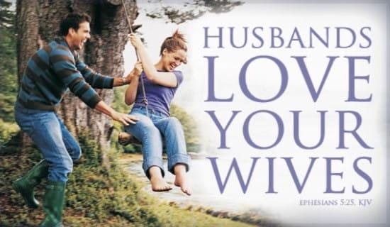 Husbands Love Wives ecard, online card