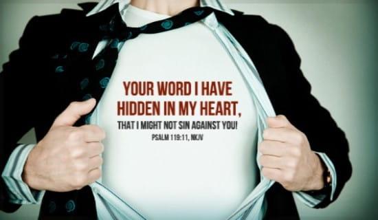 Psalm 119:11 ecard, online card