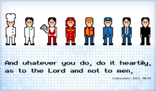 Do For the Lord ecard, online card