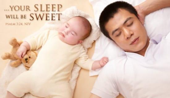Sweet Sleep ecard, online card