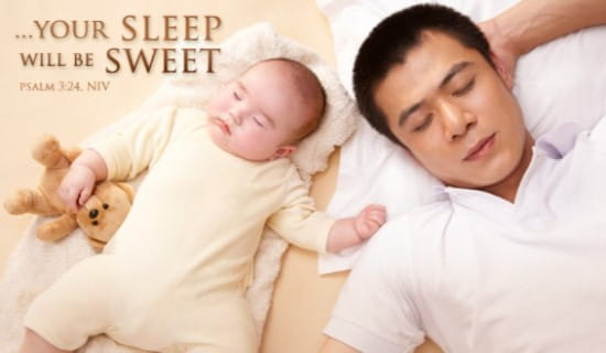 Sweet Sleep ecard, online card
