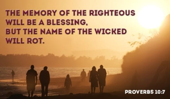 Will your memory be a BLESSING?