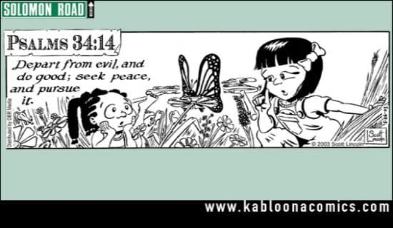 Pursue Peace ecard, online card