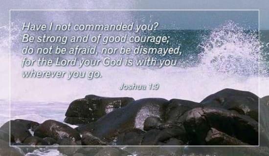 Courage ecard, online card