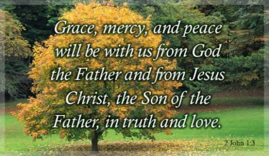 Grace And Mercy ecard, online card