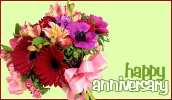 Happy Anniversary ecard, online card