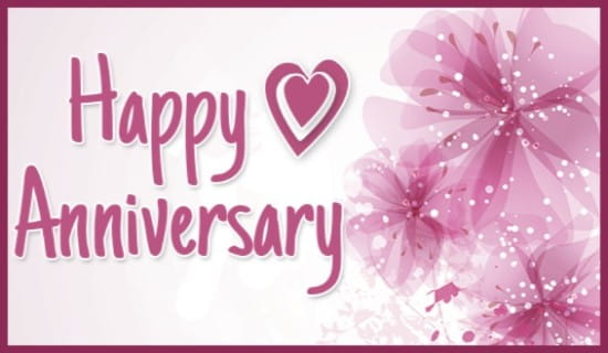 Happy Anniversary! ecard, online card