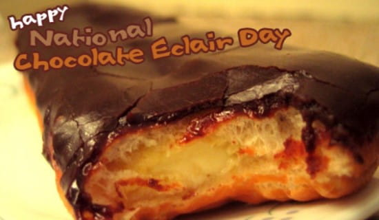 Eclair Day 6/22 ecard, online card