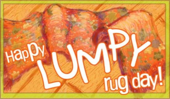 Lumpy Rug Day 5/3 ecard, online card