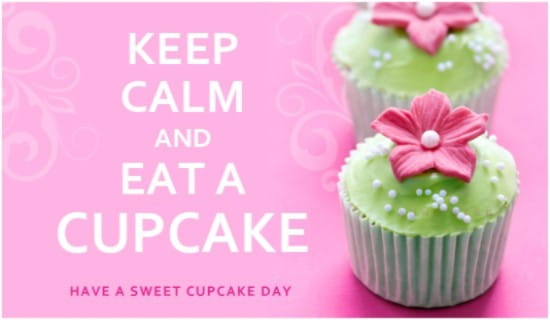 Cupcake Day (8/18) ecard, online card