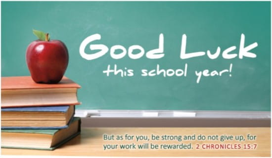 Back to School ecard, online card