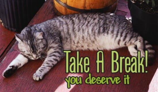 Take A Break! ecard, online card