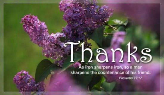 Thank You ecard, online card