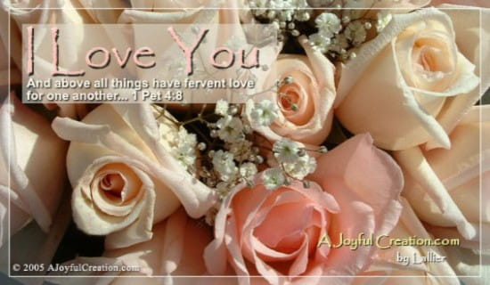 I Love You ecard, online card
