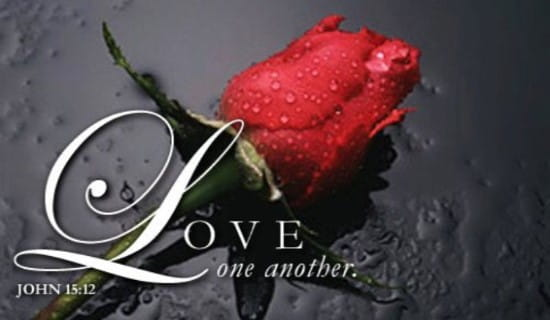Love One Another ecard, online card