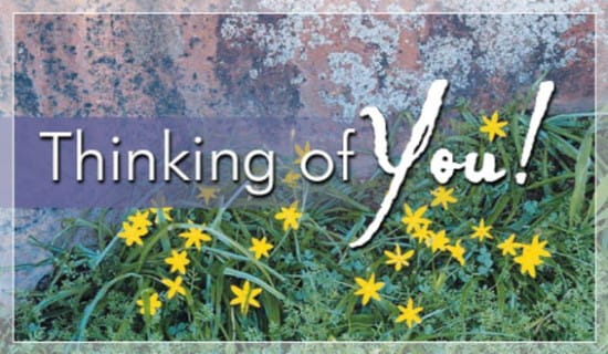 Thinking Of You ecard, online card