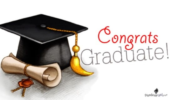 Congratulations, Graduate! ecard, online card