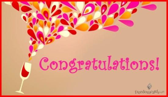 Congratulations! ecard, online card