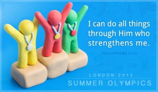 London 2012 Olympics ecard, online card
