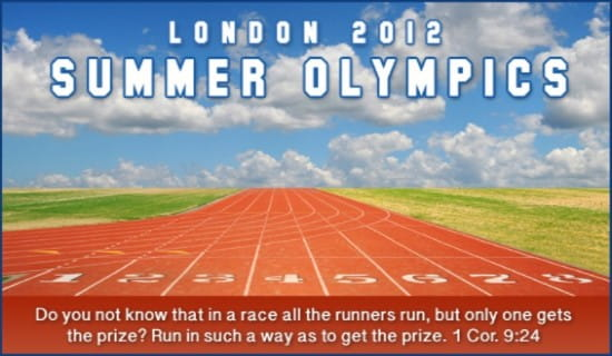 London 2012 Olympics ecard, online card