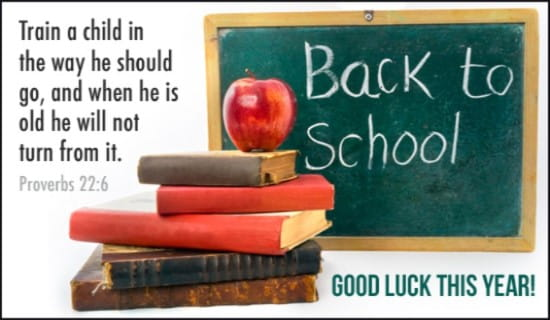 Back to School ecard, online card