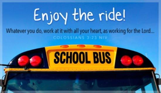 Enjoy the Ride ecard, online card