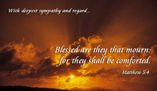 Sympathy Blessed ecard, online card