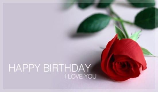 Happy Birthday - Love ecard, online card