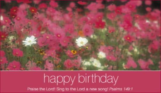 Psalms 149:1 ecard, online card