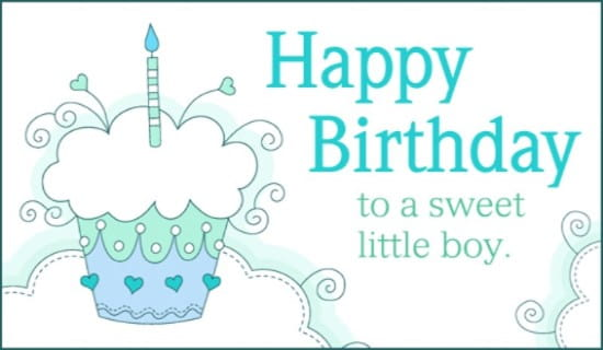 Free Sweet Boy Ecard Email Free Personalized Birthday Cards Online