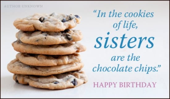 Birthday Cookies ecard, online card