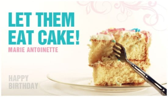 Eat Cake ecard, online card