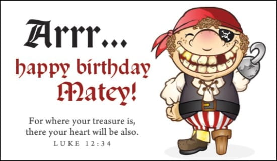 free pirate birthday ecard email free personalized birthday cards