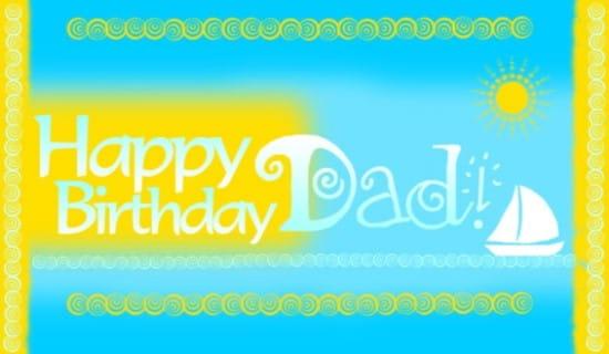 Dad ecard, online card