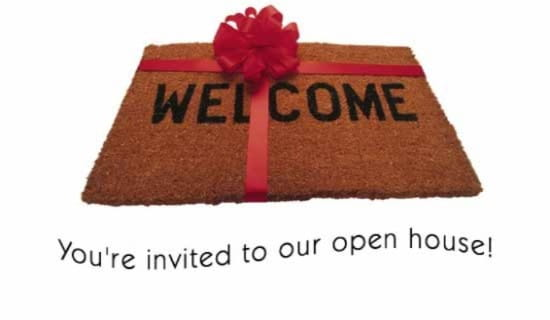 Open House ecard, online card